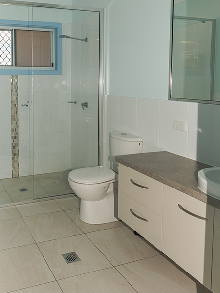 New Unit Bathroom